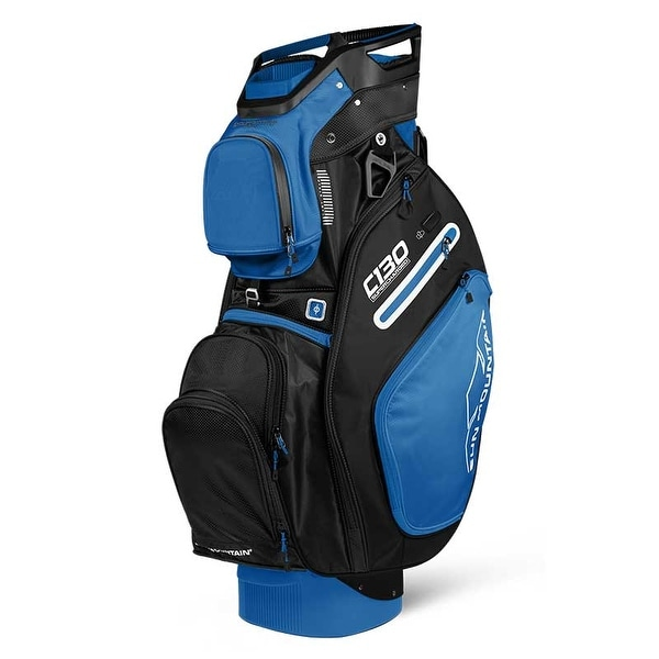 New 2019 Sun Mountain C-130 Supercharged Golf Cart Bag (Cobalt / Black) - Cobalt / Black