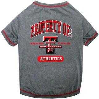 Collegiate Texas Tech Pet Tee Shirt