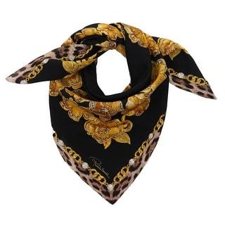 Link to Roberto Cavalli C3602C840 527 Black Jewel Scarf - 35-35 Similar Items in Scarves & Wraps