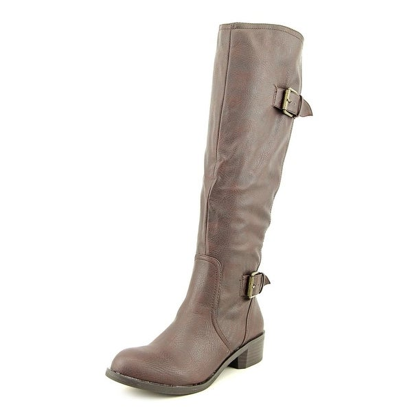 Style & Co Derbey Womens MidBrown Boots