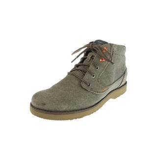 Teva Mens Mason Waxed Canvas Chukka Boots