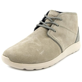 Crocs Kinsale Lace-up Men Round Toe Synthetic Tan Sneakers