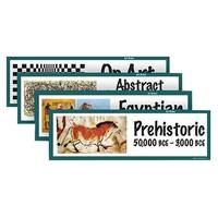 School Specialty Art Styles Art Display Cards - 18 x 6 inches - Set of 32