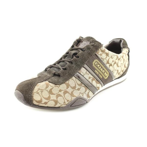 Coach Remonna Women Canvas Brown Fashion Sneakers