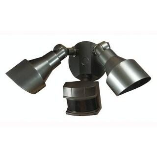Heath Zenith HZ-5597 2 Light 200 Watt Quartz Halogen Security Flood Light