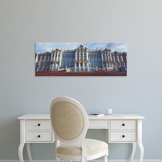 Easy Art Prints Panoramic Images's 'Facade of a palace, Catherine Palace, Pushkin, St. Petersburg, Russia' Canvas Art