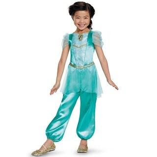 Disguise Jasmine Classic Child Costume - Blue/Gold
