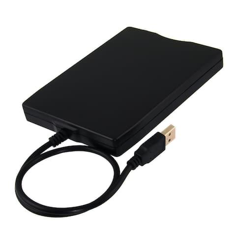USB 2.0 External Floppy Disk Drive - Black