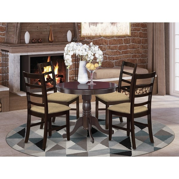 5-Piece Kitchen Table Set and 4 Kitchen Chairs. Opens flyout.