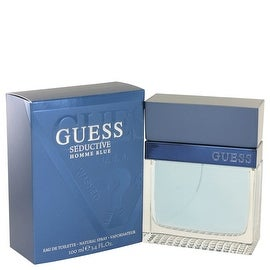 Guess Seductive Homme Blue by Guess Eau De Toilette Spray 3.4 oz - Men