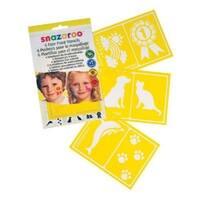 ColArt 1198012 Generic Images Face Paint Stencil Set