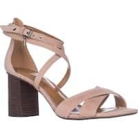 Coach Phoebe Strappy Block Heel Sandals, Beechwood