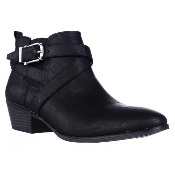 SC35 Harperr Ankle Booties, Black