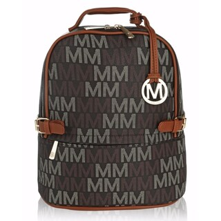 "MKF Collection Cleo Milan ""M"" Signature Trendy Backpack by Mia K. Farrow"