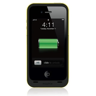 Mophie Juice Pack Plus Battery Backup for Apple iPhone 4/4S (2000 mAh) - Black