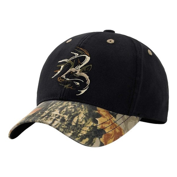 Legendary Whitetails Men's Shadow Buck God's Country Camo Cap - Black - One size