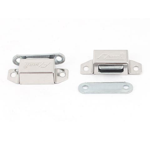 Magnetic Door Catches Cupboard Wardrobe Cabinet Latch Catch 2pcs