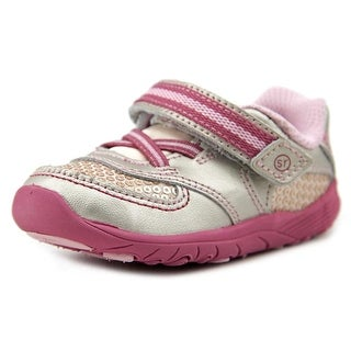 Life Stride Kelsey Youth Round Toe Leather Pink Sneakers