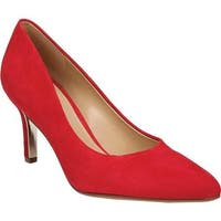 Naturalizer Women's Natalie Pump Red Suede