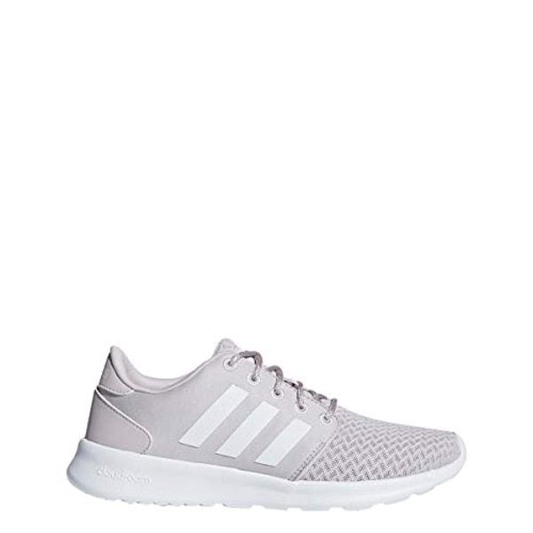 ffaa2933de5be Shop Adidas Cloudfoam Qt Racer Shoe Womens Running 9.5 Ice  Purple-White-Light Granite - Free Shipping Today - Overstock - 27122314