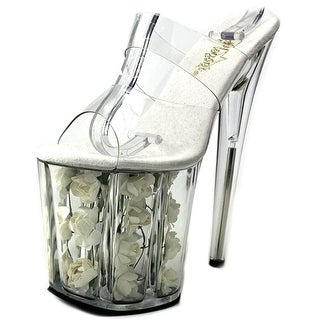 Pleaser Flamingo-802 Open Toe Synthetic Platform Sandal