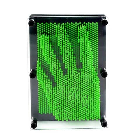 3D Pin Art Impression Board (Green)