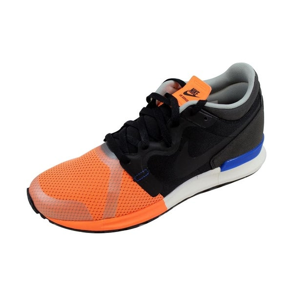 Nike Men's Berwuda Mid QS Black/Black-Atomic Orange-Golden 599473-008 Size 10.5