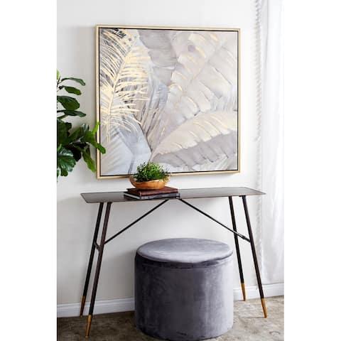 Brown Canvas Traditional Framed Wall Art 40 x 40 x 2 - 40 x 2 x 40
