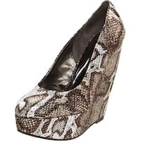 Carlos by Carlos Santana Womens Fate Closed Toe Platform Pumps