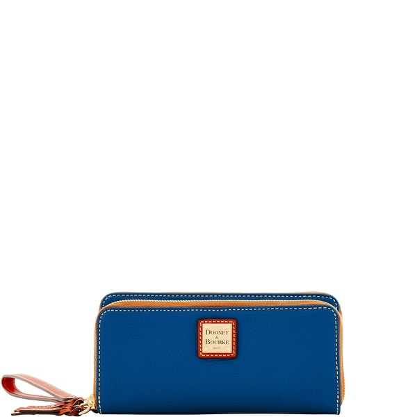 Dooney & Bourke Pebble Grain Double Zip Wallet (Introduced by Dooney & Bourke at $168 in Jun 2017)