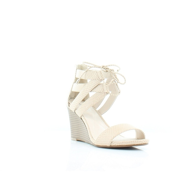 Alfani Womens Karlii Open Toe Casual Strappy Sandals, Cashew, Size 8.0 - 8