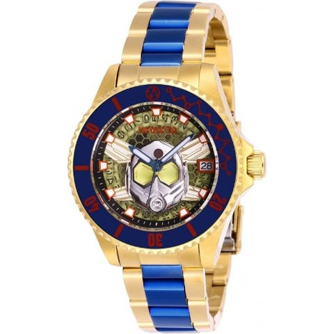 Invicta Women's 27782 'Marvel Limited Edition Wasp' Two-Tone Stainless Steel Watch - Yellow
