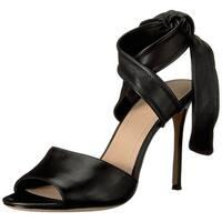 Pour La Victoire Womens Elsapn Peep Toe Special Occasion Slide Sandals