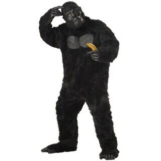 California Costumes Gorilla Plus Size Costume - Black - plus (48-52)