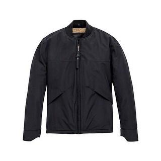 Marc New York Mens Dalton Bomber Jacket in Black