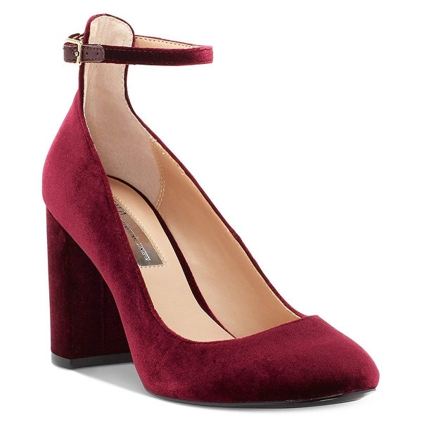 Inc International Concepts Womens Gallan 3 Suede Closed Toe Ankle Strap Class.