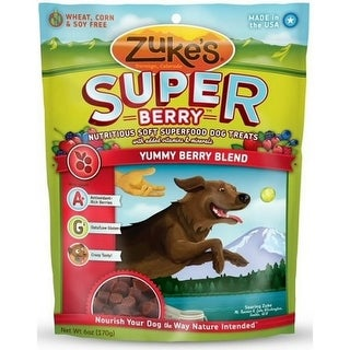 Zukes Super Food Yummy Berry Blend Dog Treats