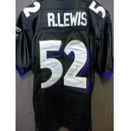 Signed Lewis Ray Baltimore Ravens Authentic Baltimore Ravens Jersey size 50 autographed