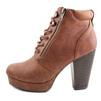 Material Girl Womens Rheta Closed Toe Ankle Fashion Boots