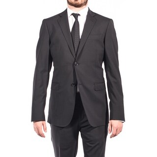 Pierre Balmain Wool Two Button Suit Black