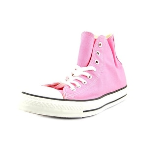 Converse All Star Hi Women Round Toe Canvas Pink Sneakers