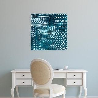 Easy Art Prints Chariklia Zarris's 'Sashiko Stitches IV' Premium Canvas Art