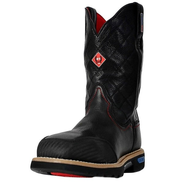 Cinch Work Boots Mens WRX CT FR Safety Toe Tough Black
