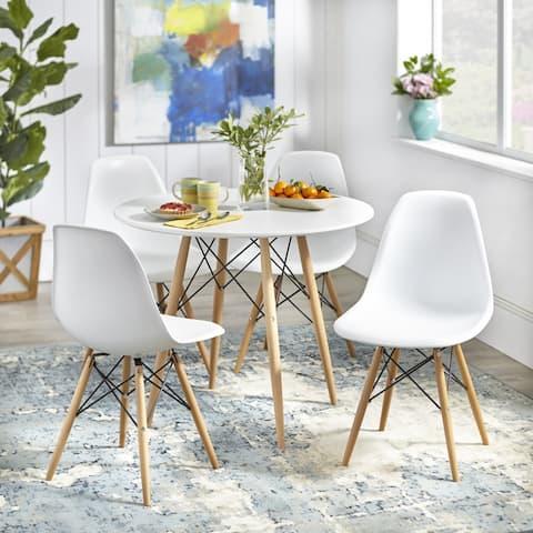 Simple Living Mid-Century Elba 5-piece Dining Set