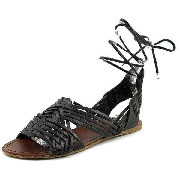 J/Slides Hipsterr Women Open Toe Leather Gladiator Sandal
