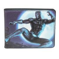 Marvel Men's Black Panther Action Bifold Wallet - One size