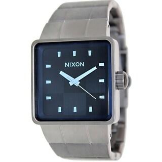 Nixon Men's Quatro A0131427 Grey Stainless-Steel Quartz Fashion Watch