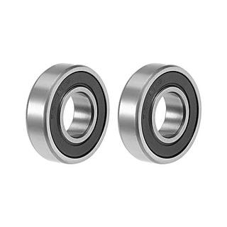 "R8-2RS Deep Groove Ball Bearing 1/2""x1-1/8""x5/16"" Sealed Bearings 2pcs - 2 Pack - R8-2RS (1/2""x1-1/8""x5/16"")"