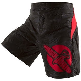 Hayabusa Weld3 MMA Fight Shorts - Black - bjj boxing fitness training