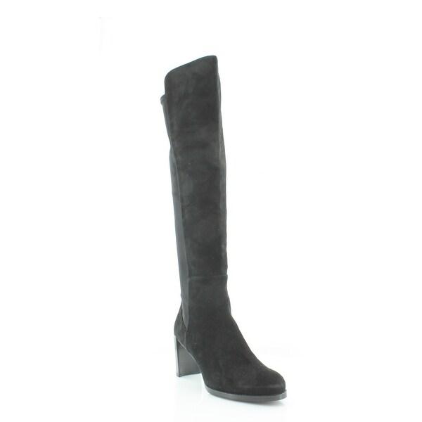 5e535e18653 Shop Stuart Weitzman Lowjack Women s Boots Black - 9.5 - Free ...